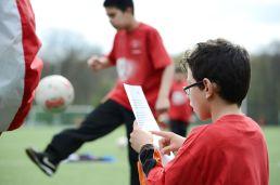 Leseförderung mit Ball und Buch - kicken&lesen Köln